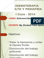 Oxigenoterapia Adulto y Pediatria
