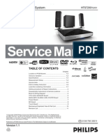 Philips Hts7200 manual