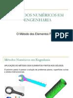 Elementos Finitos - Parametrização de elementos