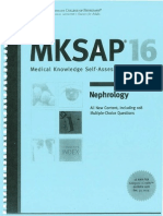 Mksap 16 Nephrology