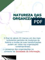 Administração - Natureza Das Organizações e Nature Za Da Comunicação