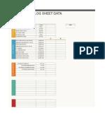 Plant Log Sheet