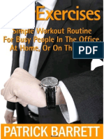 Easy Exercises Simple Workout Routine for Busy People
