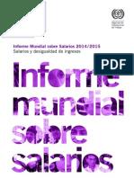Informe Salarial 2014 15