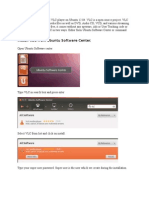 VLC Installationon Ubuntu