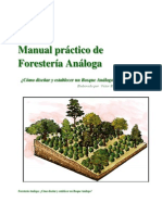 Como Diseñar y Establecer Un Bosque Análogo