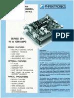Power Control Unit -Phasetronic