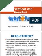 Recruitment Dan Orientasi