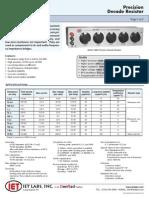 Precision Decade Resistor
