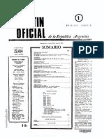 Boletín Oficial de la República Argentina, 23/5/1976