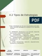 4.2Tipos de Estrategia