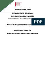 Reglamento de La APAFA 2013