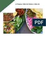La Edicion de Otono (Vegana, Libre de Gluten y Libre de Soya)