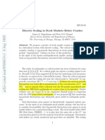 1995-9-(FEIGENBAUM) Discrete Scaling in Stock Markets Before Crashes.pdf