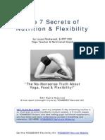 7 Secrets of Nutrition Flexibility