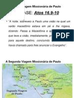 A Segunda Viagem Missionaria de Paulo