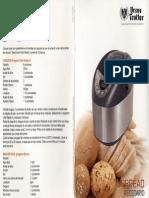 Recetario URBREAD Máquina Para Pan