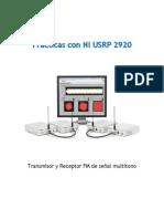 Transmisor y Receptor FM de Señal Multitono