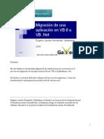 Migración de aplicaciones VB6 a VBNet