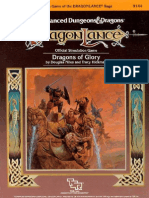 AD&D DL11 Dragons of AD&D DL11 Dragons of Glory - TSR 9144Glory - TSR 9144