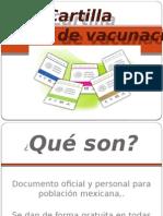 Cartilla de Vacunación 2015