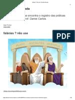 Falácias _ Não Use _ Filosofia Animada