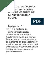 UNIDAD 1 Cultura Regional