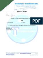 Proforma Mtc 10032014