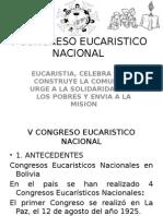 V Congreso Eucaristico Nacional