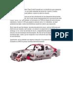 La carrocería del Mercedes Clase E