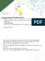Epidemiology Kdd Slides