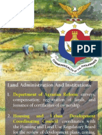 Land and Agrarian reforms in the PH