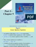 7eCh09-Linear Algebraic Equations
