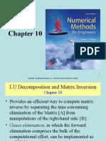 7eCh10 - LU Decomposition