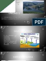 Unidad 1 Cuencas Hidrologicas