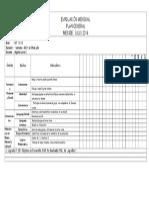 Evaluación NT1  Julio