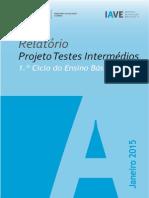 Relatório_Testes Intermédios 2º ano_2014_com_anexos