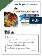ACERVO DE ALFABETIZAÇÃO - 2º ANO 4 - Agrupamentos de Gêneros