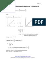 Contoh Contoh Soal Trigonometri Libre