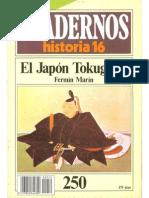 Historia 16 (1985) - Ch250 - El Japon Tokugawa.PDF
