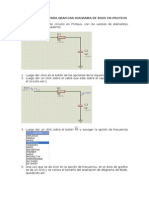 Diagrama de Bode en Proteus