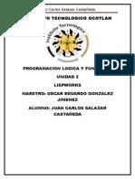 Lispworks Unidad 2