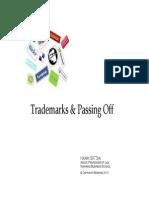 Trademark & Passing Off PRINT