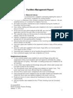 Document #10C - Facilities Report