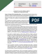 Comunicado de prensa de ACI sobre situación de Haití (14 enero 10)