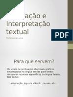 Pontuação e Interpretação Textual
