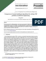 Comparison of several intelligent algorithms for solving TSP.pdf