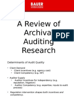 Auditing Review