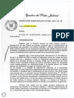 RA 60-2014-CE-PJ - Licencias Sin Goce de Haber - Poder Judicial.pdf