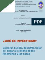 3 La Investigacion Cientifica